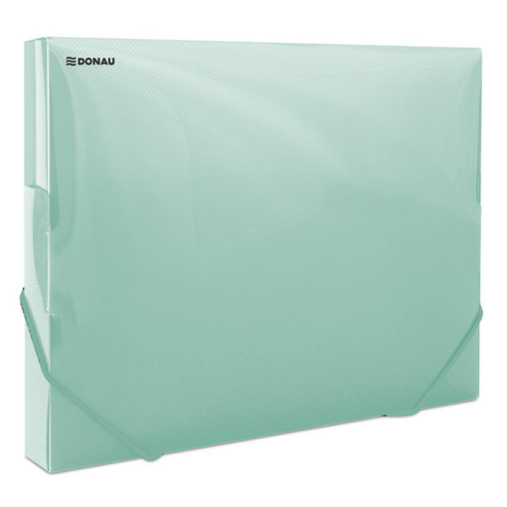 8b21b0d118dde Plastový box s gumičkou DONAU priehľadný zelený