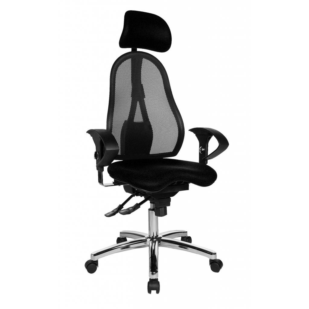a210e68d33dc Kancelárska stolička SITNESS 45 čierna